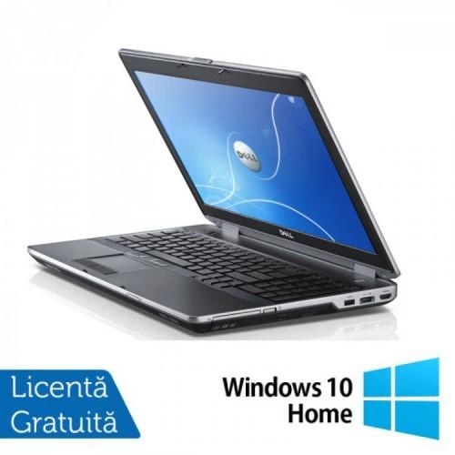 Laptop Dell Latitude E6530, Intel i5-3320M, 2.6Ghz, 4GB DDR3, 500GB SATA, DVD-RW, 15.6 Inch HD + Windows 10 Home