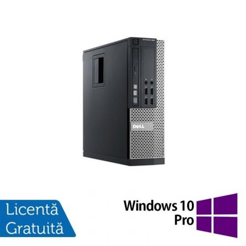 Calculator Dell 990 SFF, Intel Core i5-2400 3.10GHz, 4GB DDR3, 250GB SATA, DVD-RW + Windows 10 Pro, Refurbished