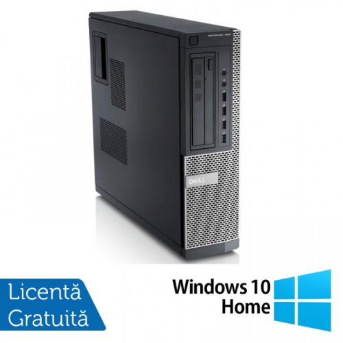 Calculator DELL GX790 Desktop, Intel Core i5-2400 3.10 GHz, 4GB DDR3, 500GB SATA, DVD-ROM + Windows 10 Home, Refurbished