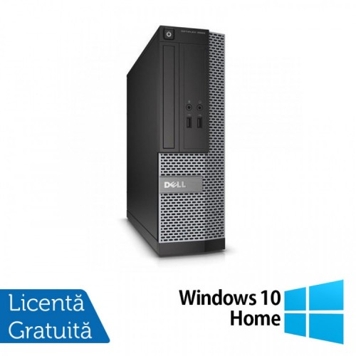 Calculator Dell OptiPlex 7010 USFF, Intel Core i5-3475S 2.90GHz, 4GB DDR3, 120GB SSD + Windows 10 Home, Refurbished