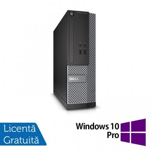 Calculator DELL Optiplex 3020 SFF, Intel Pentium G3220 3.00GHz, 4GB DDR3, 500GB SATA, DVD-RW + Windows 10 Pro  Refurbished