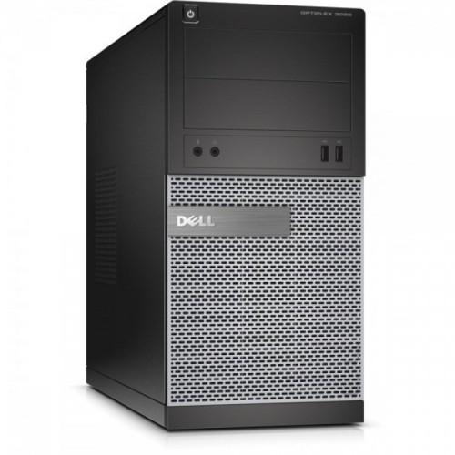 Calculator DELL Optiplex 3020 Tower, Intel Core i3-4160 3.60 GHz, 4GB DDR3, 250GB SATA, DVD-RW, Second Hand