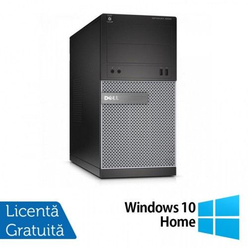 Calculator DELL Optiplex 3020 Tower, Intel Core i5-4570 3.20GHz, 4GB DDR3, 500GB SATA, DVD-ROM + Windows 10 Home, Refurbished