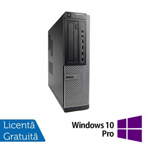 Calculator DELL OptiPlex 7010 Desktop, Intel Core i5-3470 3.20 GHz, 4GB DDR3, 250GB SATA, DVD-RW + Windows 10 Pro, Refurbished