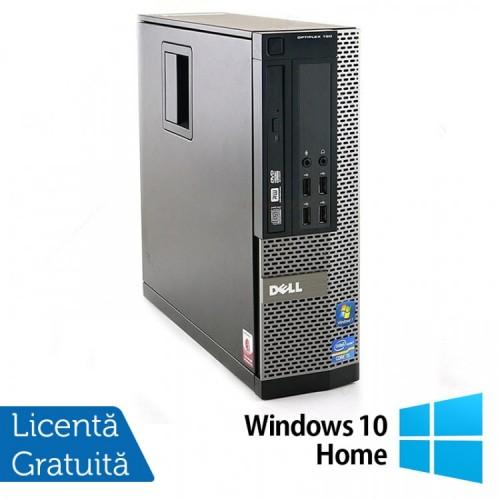 Calculator Dell OptiPlex 790 SFF, Intel Core i5-2400 3.10GHz, 4GB DDR3, 320GB SATA + Windows 10 Home, Refurbished