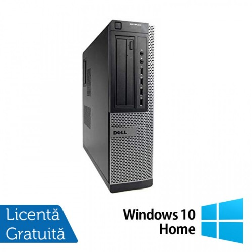 Calculator DELL 3010 SFF, Intel Core i5 3470s 2.90GHz, 4GB DDR3, 500GB SATA, DVD-ROM + Windows 10 HOME