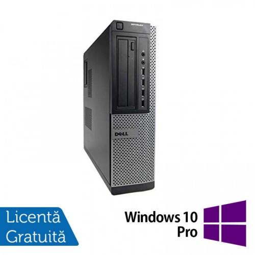 Calculator DELL GX790 Desktop, Intel Core i3-2100 3.10 GHz, 4GB DDR3, 250GB SATA, DVD-ROM + Windows 10 Pro, Refurbished