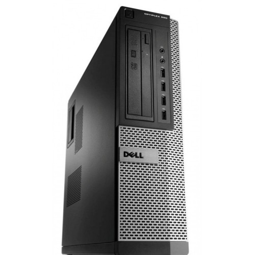 Calculator Dell OptiPlex 990 Desktop, Intel i7-2600 3.40GHz, 4GB DDR3, 120GB SSD, DVD-ROM, Second Hand