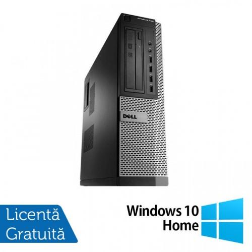 Calculator Dell OptiPlex 990 Desktop, Intel i7-2600 3.40GHz, 4GB DDR3, 120GB SSD, DVD-ROM + Windows 10 Home, Refurbished
