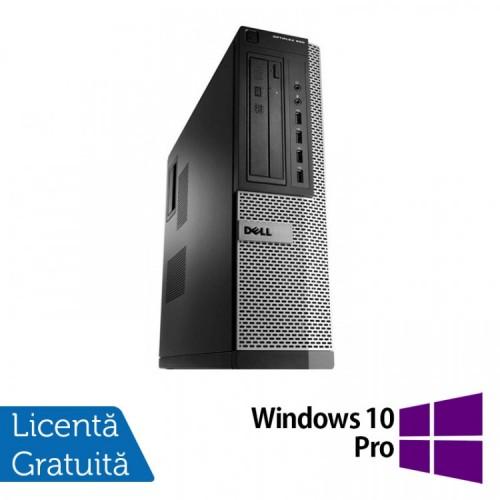 Calculator Dell OptiPlex 990 Desktop, Intel i7-2600 3.40GHz, 4GB DDR3, 120GB SSD, DVD-ROM + Windows 10 Pro, Refurbished