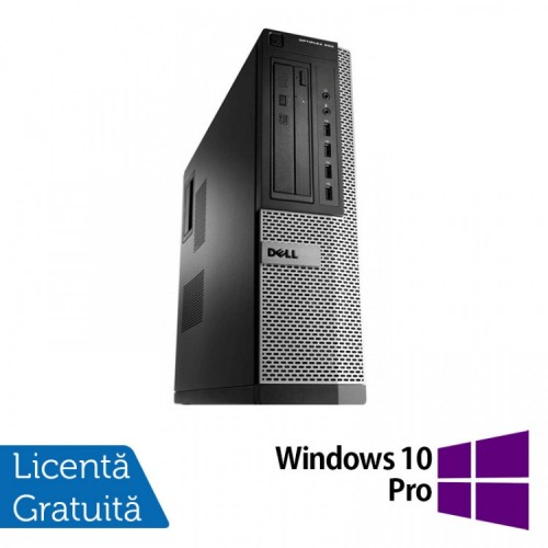 Calculator Dell OptiPlex 990 Desktop, Intel i7-2600 3.40GHz, 8GB DDR3, 500GB SATA, DVD-ROM + Windows 10 Pro, Refurbished