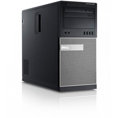 Calculator Dell OptiPlex 990 Tower, Intel Core i7-2600 3.40GHz, 8GB DDR3, 120GB SSD, DVD-RW, Second Hand