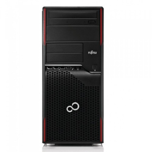 Calculator Second Hand Fujitsu Celsius W410, Tower, Intel Core i5-2400, 3.10Ghz, 4GB DDR3, 320GB SATA, DVD-ROM