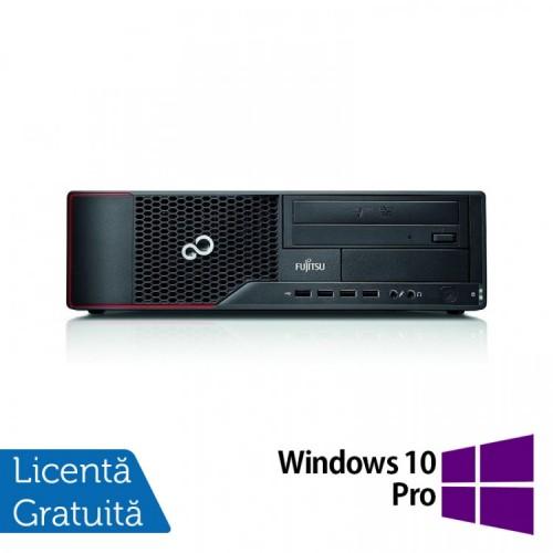Calculator Fujitsu Siemens C710 SFF, Intel Pentium G620 2.60GHz, 4GB DDR3, 250GB SATA + Windows 10 Pro, Refurbished