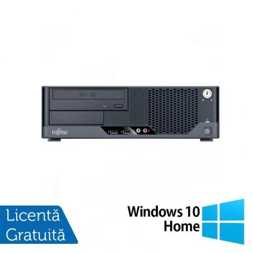 Calculator FUJITSU SIEMENS Esprimo E5731 SFF, Intel Pentium E5800 3.20GHz, 2GB DDR3, 250GB SATA, DVD-ROM + Windows 10 Home