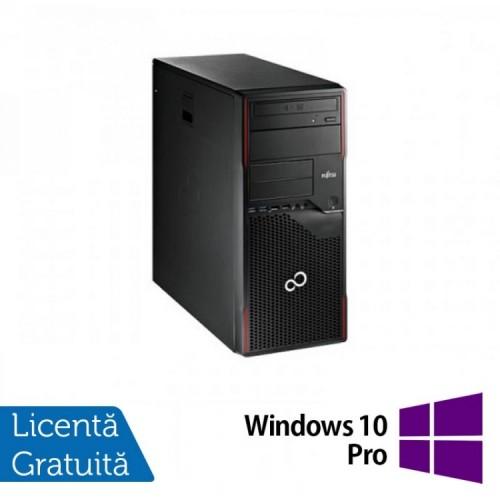 Calculator Refurbished FUJITSU SIEMENS Esprimo P710, Intel Celeron Dual Core G1610 2.60GHz, 4GB DDR3, 500GB SATA, DVD-ROM + Windows 10 PRO