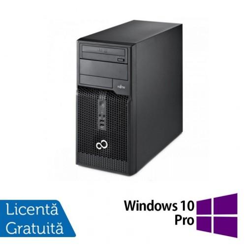 Calculator FUJITSU SIEMENS P400 Tower, Intel Core i3-2120 3.3 GHz, 4 GB DDR 3, 500GB SATA, DVD-ROM + Windows 10 PRO