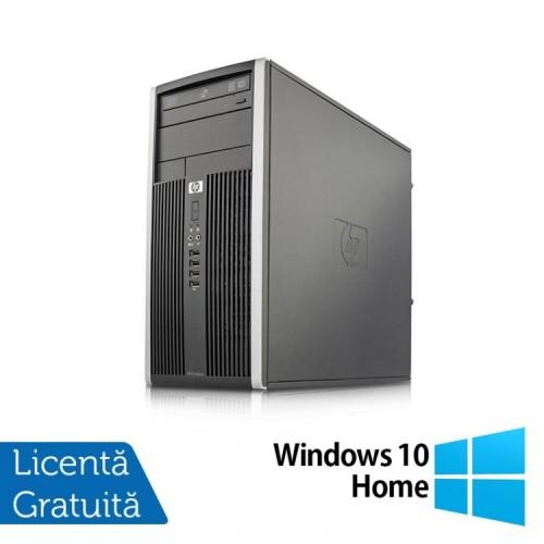 Calculator HP 6000 Tower, Intel Pentium E5500 2.80GHz, 4GB DDR3, 250GB SATA, DVD-RW + Windows 10 Home, Refurbished