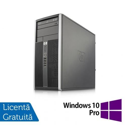 Calculator HP 6000 Tower, Intel Pentium E5500 2.80GHz, 4GB DDR3, 250GB SATA, DVD-RW + Windows 10 Pro, Refurbished