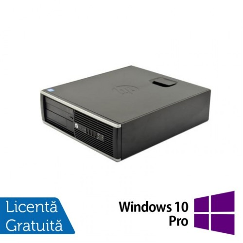 Calculator HP 6200 Pro Desktop, Intel Pentium G620 2.60 GHz, 4GB DDR3, 250GB SATA, DVD-ROM + Windows 10 PRO