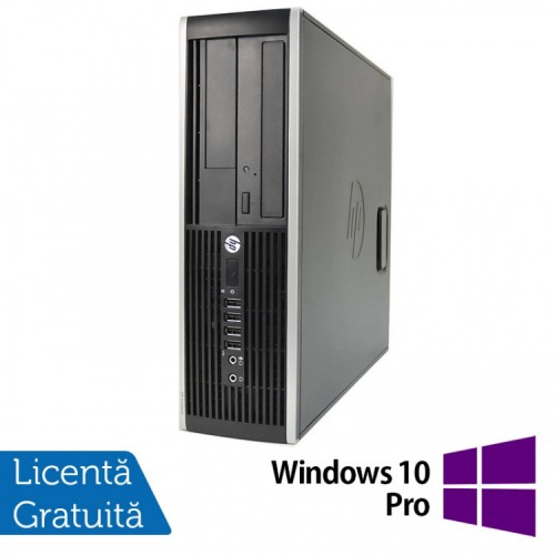 Calculator HP 6200 SFF, Intel Pentium G645 2.90GHz, 8GB DDR3, 500GB SATA, DVD-ROM + Windows 10 Pro, Refurbished (Top Sale!)