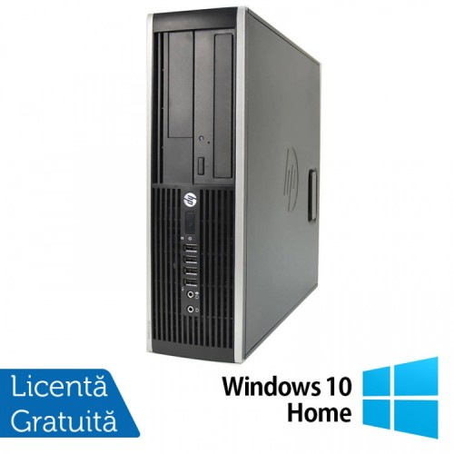 Calculator HP 6200 SFF, Intel Pentium G645 2.90GHz, 4GB DDR3, 250GB SATA, DVD-ROM + Windows 10 Home, Refurbished (Top Sale!)
