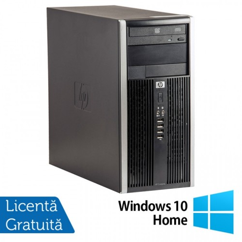 Calculator HP 6200 Tower, Intel Pentium G645 2.90GHz, 4GB DDR3, 250GB SATA, DVD-ROM + Windows 10 Home, Refurbished (Top Sale!)