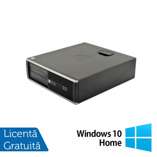 Calculator HP 6300 SFF, Intel Core i7-2600 3.40GHz, 4GB DDR3, 250GB SATA, DVD-RW + Windows 10 Home, Refurbished