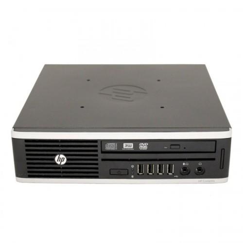 Calculator HP 8200 Elite USFF, Intel Core i5-2500 3.30GHz, 4GB DDR3, 250GB SATA, Second Hand