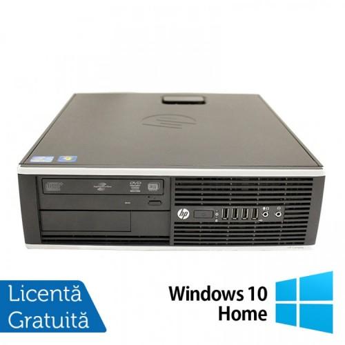Calculator HP 8200 SFF, Intel Core i5-2400 3.10GHz, 8GB DDR3, 500GB SATA, DVD-ROM, Port Serial, Display Port + Windows 10 Home (Top Sale!)