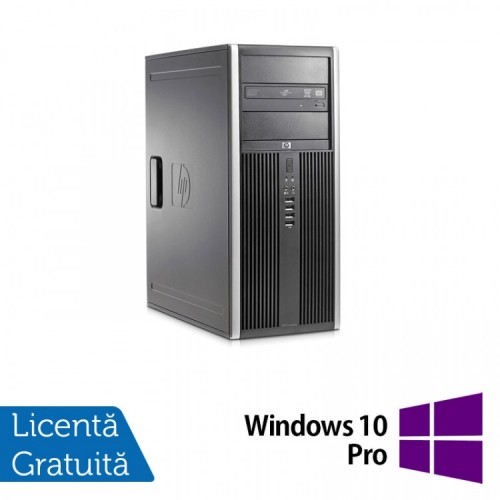 Calculator HP 8200 Tower, Intel Pentium G645 2.90GHz, 4GB DDR3, 250GB SATA, DVD-ROM + Windows 10 Pro, Refurbished (Top Sale!)