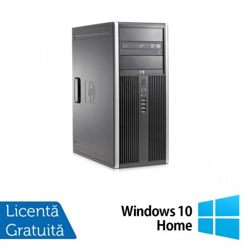 Calculator HP 8200 Tower, Intel Core i5-2400 3.10GHz, 8GB DDR3, 500GB SATA, GeForce GT210 512MB DDR3, DVD-ROM + Windows 10 Home, Refurbished (Top Sale!)