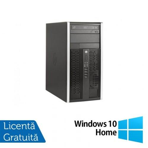 Calculator HP 8200 Elite MT, Intel Core i5-2400 3.10 GHz, 4GB DDR3, 250GB SATA, DVD-RW + Windows 10 Home, Refurbished