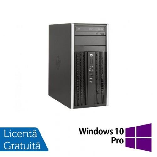 Calculator HP 8200 Elite MT, Intel Core i5-2400 3.10 GHz, 4GB DDR3, 250GB SATA, DVD-RW + Windows 10 Pro, Refurbished