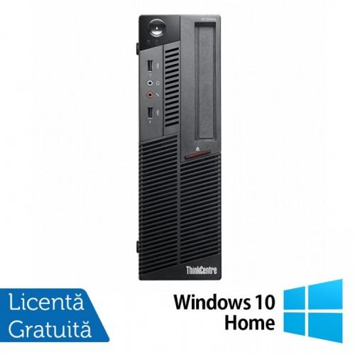 Calculator Lenovo M90 SFF, Intel Core i5-650 3.20GHz, 4GB DDR3, 500GB SATA, DVD-RW + Windows 10 Home, Refurbished