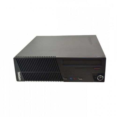 Calculator Lenovo ThinkCentre M71e SFF, Intel Core i5-2400 3.10GHz, 4GB DDR3, 250GB SATA, DVD-ROM, Second Hand