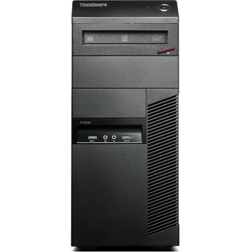 Calculator Refurbished Lenovo Thinkcentre M83 Tower, Intel Core i3-4130, 3.4Ghz, 4Gb DDR3, 500Gb HDD, DVD-ROM + Windows 10 Home