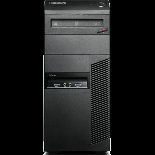 Calculator Lenovo Thinkcentre M83 Tower, Intel Core i3-4150, 3.5Ghz, 4Gb DDR3, 320Gb HDD, DVD-ROM