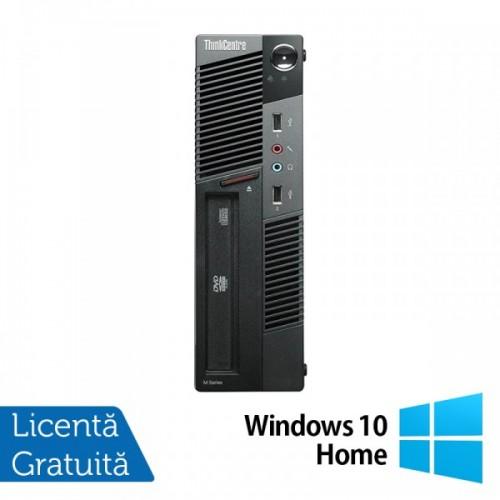 Calculator LENOVO Thinkcentre M91P USFF, Intel Core i5-2400s 2.50GHz, 4GB DDR3, 500GB SATA, DVD-RW + Windows 10 Home