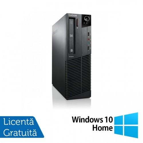 Calculator Lenovo ThinkCentre M92p SFF, Intel Core i5-3470 3.20GHz, 4GB DDR3, 500GB SATA, DVD-RW + Windows 10 Home