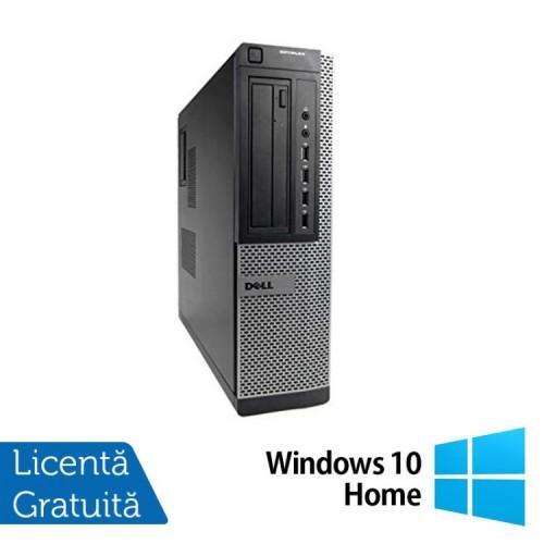 Calculator Refurbished Dell Optiplex 7010 Desktop, Intel Core i3-2100 3.10 GHz, 4GB DDR 3, 250GB SATA, DVD-ROM + Windows 10 Home