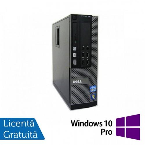 Calculator Dell OptiPlex 790 SFF, Intel Core i5-2400 3.10GHz, 4GB DDR3, 120GB SSD + Windows 10 Pro, Refurbished