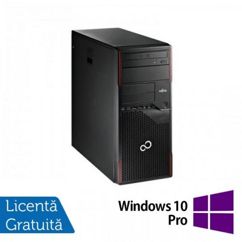 Calculator Refurbished FUJITSU SIEMENS Esprimo P710 Tower, Intel Core i5-3470 3.20GHz, 4GB DDR3, 320GB SATA, DVD-ROM + Windows 10 Pro