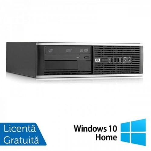 Calculator Refurbished HP Compaq 6000 Pro, SFF, Intel Pentium Dual Core E5800, 3.20 GHz, 2GB DDR3, 160GB SATA, DVD-ROM + Windows 10 Home