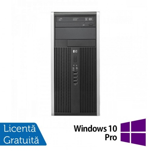 Calculator Refurbished HP 6300 Pro MT, Intel Pentium Dual Core G645, 2.90GHz, 4GB DDR3, 200GB SATA, DVD-ROM + Windows 10 PRO