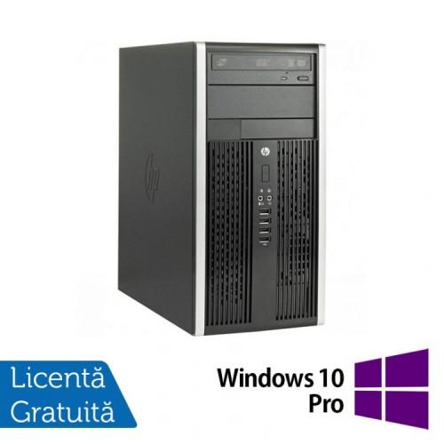 Calculator Refurbished HP 8200 Elite, Mini Tower, Intel Core i3-2100, 3.10 GHz, 4 GB DDR3, 250GB SATA, DVD-ROM + Windows 10 Pro