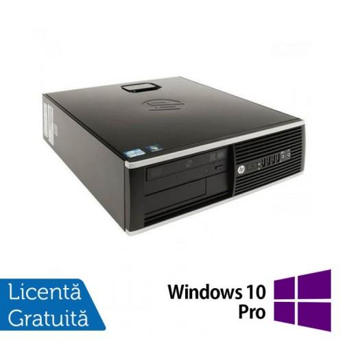 Calculator Refurbished HP 8200 Elite SFF, Intel Core i3-2100 3.10GHz, 4GB DDR3, 250GB SATA, DVD-ROM, Port Serial, Display Port + Windows 10 Pro