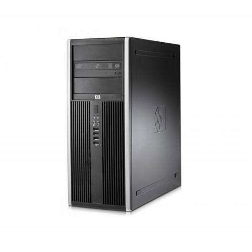 Calculator Refurbished HP Compaq 8000 Elite Tower, Intel Core 2 Quad Q9500 2.83GHz, 4GB DDR 3, 250GB SATA, DVD-ROM + Windows 10 PRO