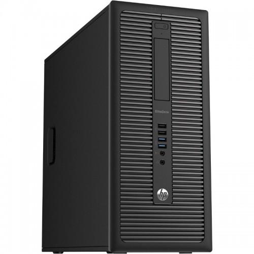 Calculator second hand HP EliteDesk 800 G1 I5-4570 3.20GHz 8GB DDR3 HD 128GB SSD, DVD Tower, PLACA VIDEO GT630 2GB