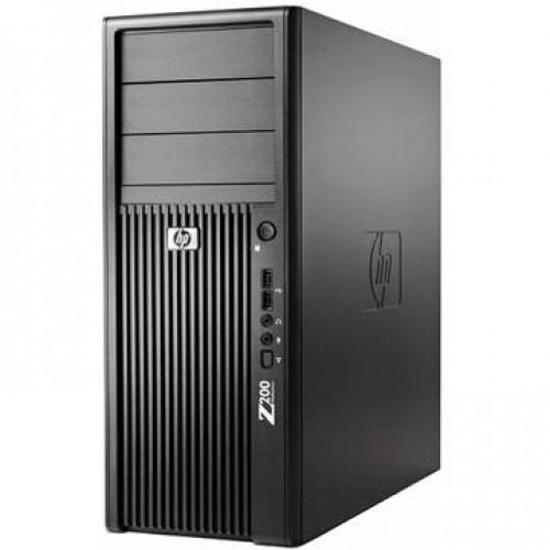 Workstation HP Z200 XEON X3460 (i-860) 2.8Ghz 4Gb DDR3 160GB HDD SATA RW Tower